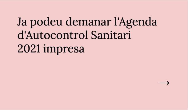 Ja podeu demanar l'Agenda d'Autocontrol Sanitari 2020 impresa